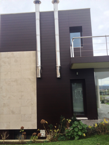 Fachadas ventiladas Berango, Bizkaia