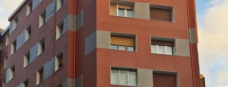 Aislamiento térmico SATE, Camino Gárate 4, Bilbao - Bizkaia